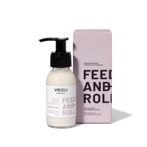 Veoli FEED AND ROLL Gommage Brightening Mask 90ml vegansk ansiktsmaske