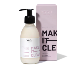 Veoli MAKE IT CLEAR Face Cleansing Milk Emulsion 200ml vegansk ansiktsrens