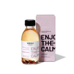Veoli ENJOY THE CALMNESS Relaxing Body Oil 150ml vegansk kroppsolje